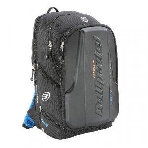 MOCHILA BULLPADEL TECH BACKPACK NEGRO